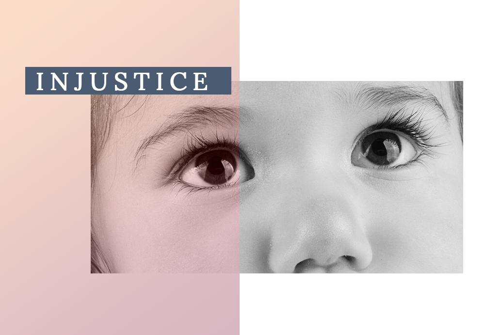 Souffrance injustice enfance